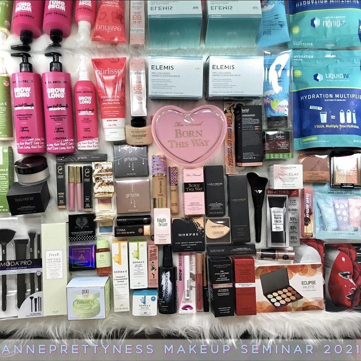Anneprettyness Makeup Seminar Brand Sponsors